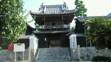 3番札所普門寺の山門です