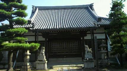 3番札所普門寺の本堂です