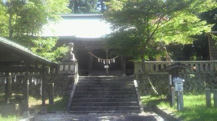 八王子神社の本殿です。