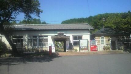 明智駅です。