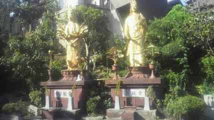 27番札所誓海寺の観音様です。