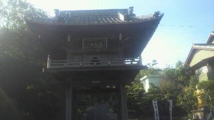 27番札所誓海寺の鐘楼です。