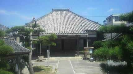 41番札所西方寺の本堂です