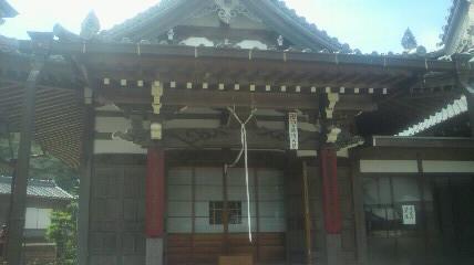 29番札所正法寺の大師堂です。