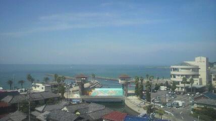 泉蔵院の見晴台から見た内海の景色です。