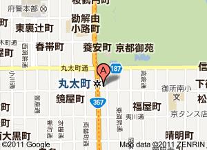 ハートピア京都地図