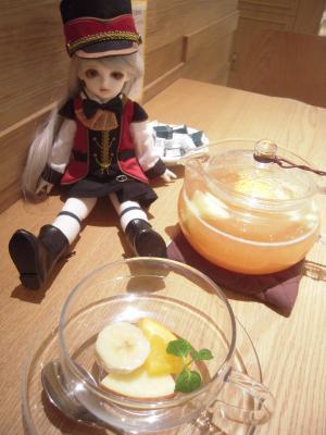 お茶クローバー1