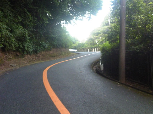鎌倉CCきつい坂1段目