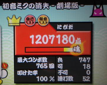 2012,2,9 太達ぽたDX 初音ミクの消失-劇場版-
