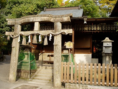 京都御苑3 厳島神社 B