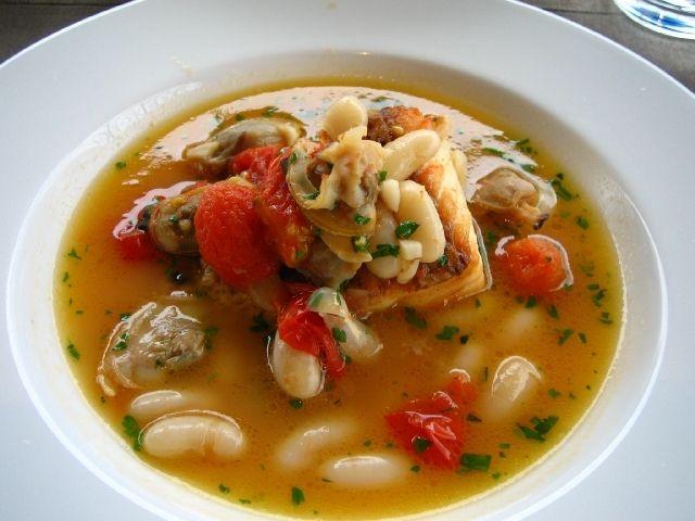 魚のスープ仕立て