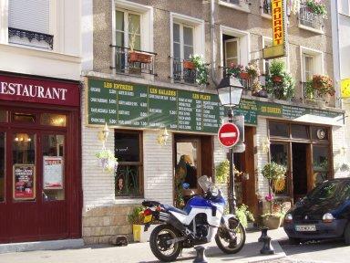 rue Jones通のカフェdownsize