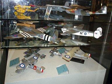 RAF博物館Costal Command機の模型展示downsize