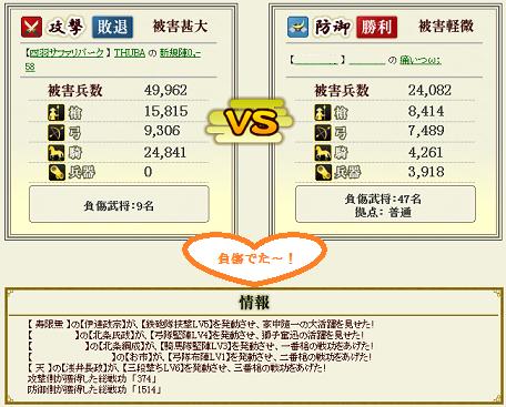 第9戦盟主戦負傷キタ━━(゚∀゚)━━!!