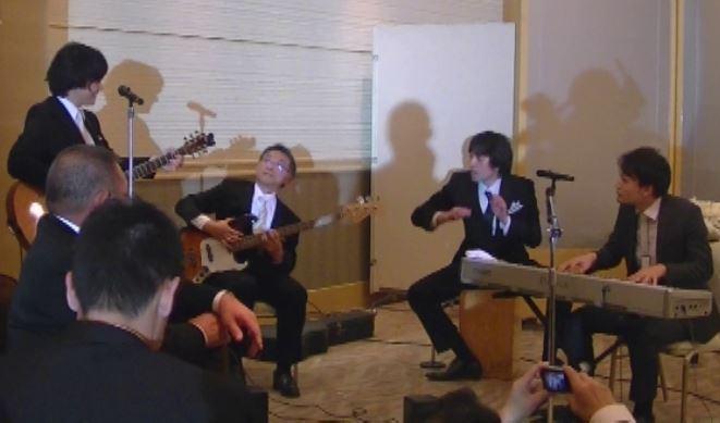 結婚式ライブ