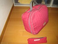 高校生の時の作品 バッグ&ペンケース