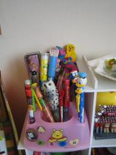 娘のペン類