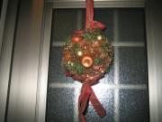 クリスマス飾り ボールリース