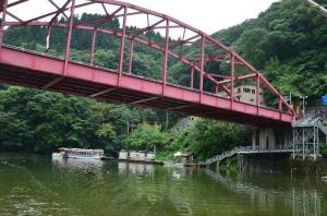 神竜湖観光船乗り場
