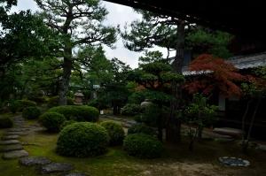 森川邸の庭