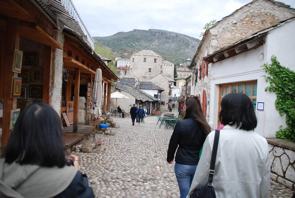 オリエンタルな旧市街