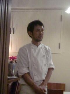 島田シェフ