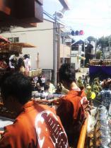 左は桜本の山車