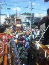 鉾田神輿連合会の神輿が担がれました。
