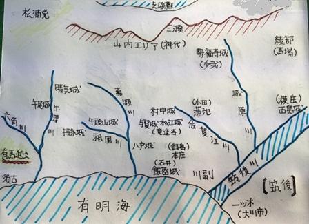 東肥前ぬくもり戦国地図