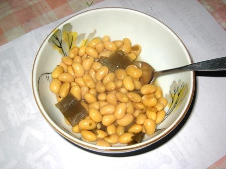 ダイズ煮豆