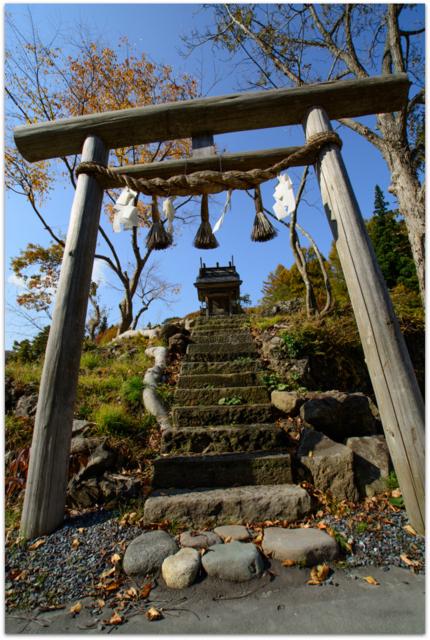 青森県 観光 西目屋村 八郎岩 二見岩
