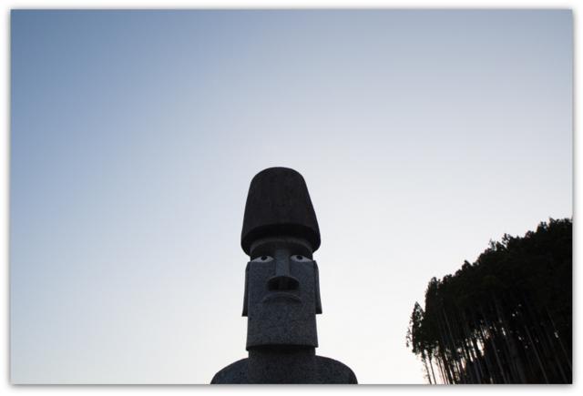 宮城県 南三陸町 モアイ像 東日本大震災 被災地 写真