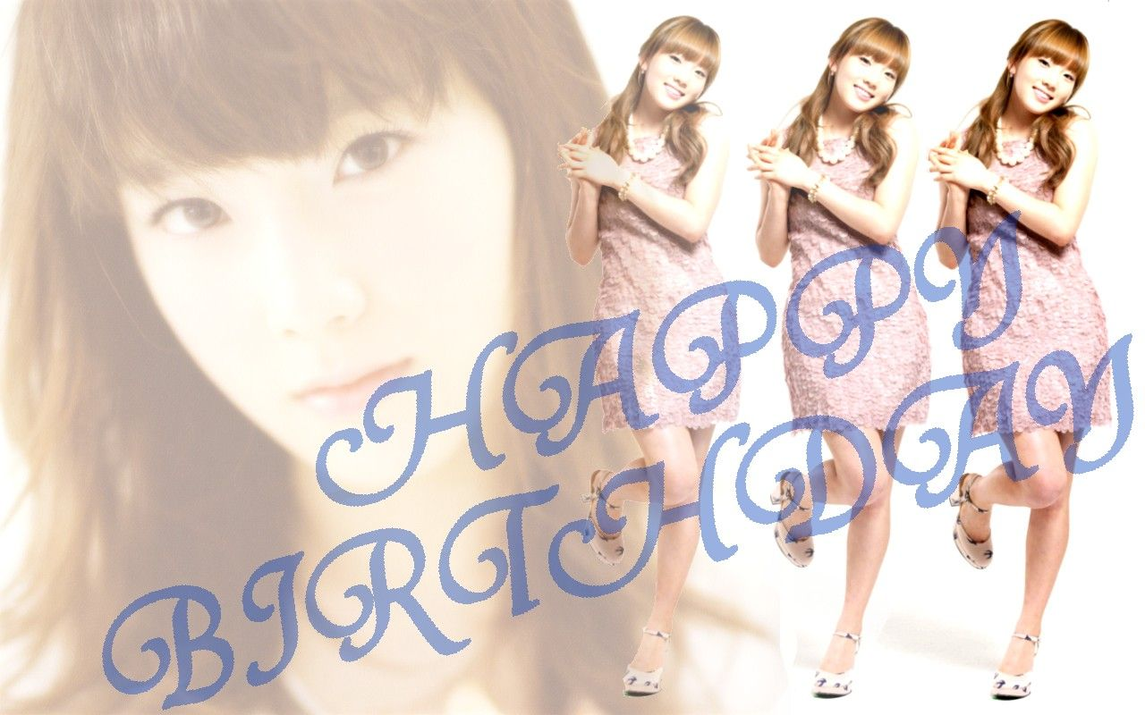 テヨン Taeyeon 壁紙 WallPaper birthday