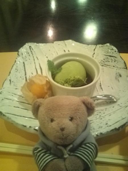 ご飯6 抹茶アイス