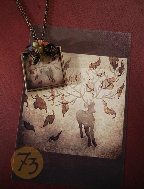 鹿のネックレス(2011:nana)