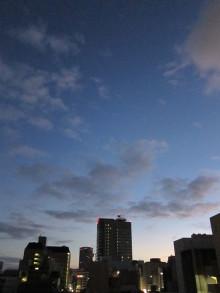 徒然青空日和-夜明け