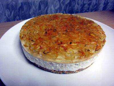 カレンデュラチーズケーキ