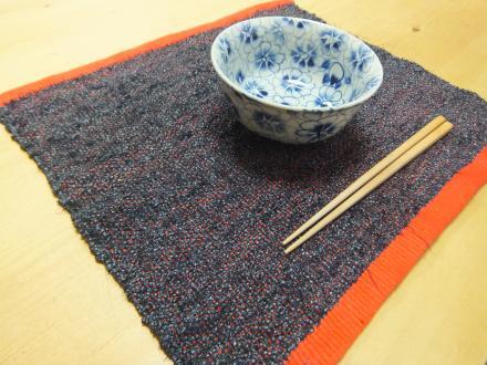 大島紬のプレイスマット