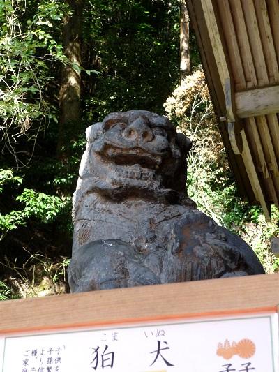 由岐神社‐吽‐狛犬