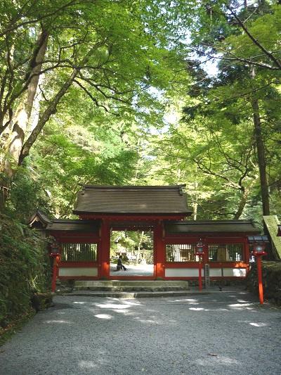 貴船神社‐奥宮門