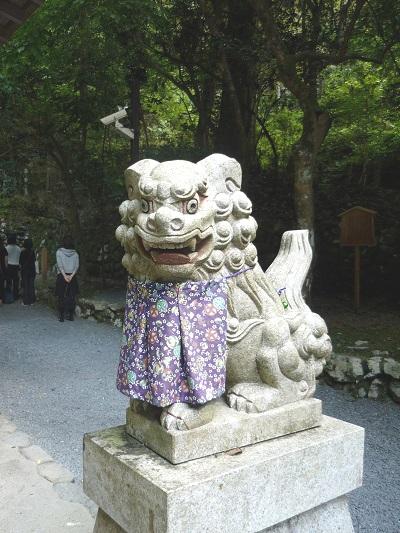 奥宮‐吽‐狛犬