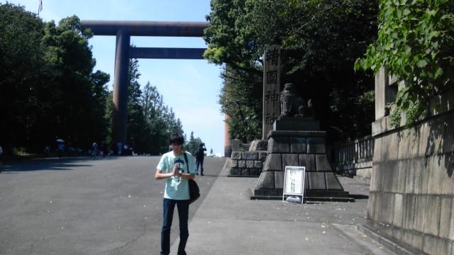 矢田靖国参拝