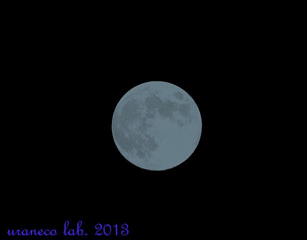 9月19日満月ブルーバージョン
