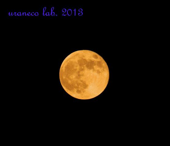 10月11日ある夜の満月2