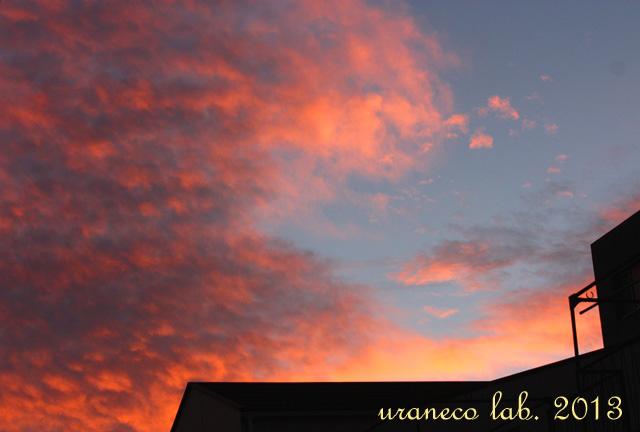 12月16日朝焼けの空2