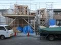 多賀城の家上棟