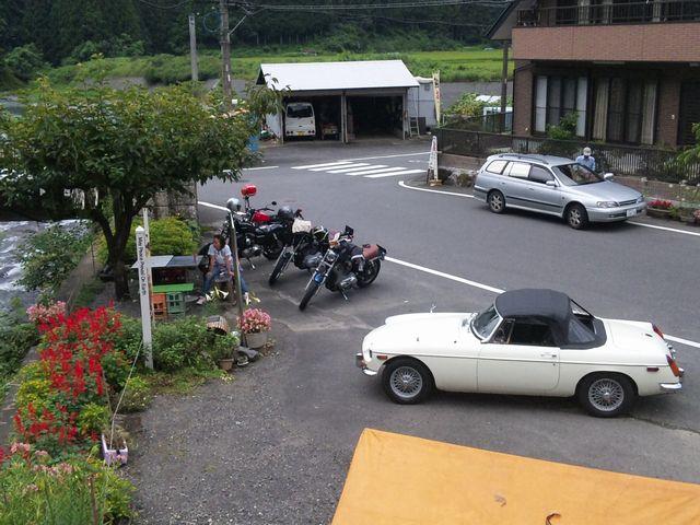 20100816 豆腐屋前
