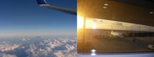 二度目の飛行機