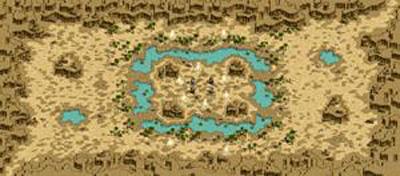 デフヒルズ / 砂漠の遺跡
