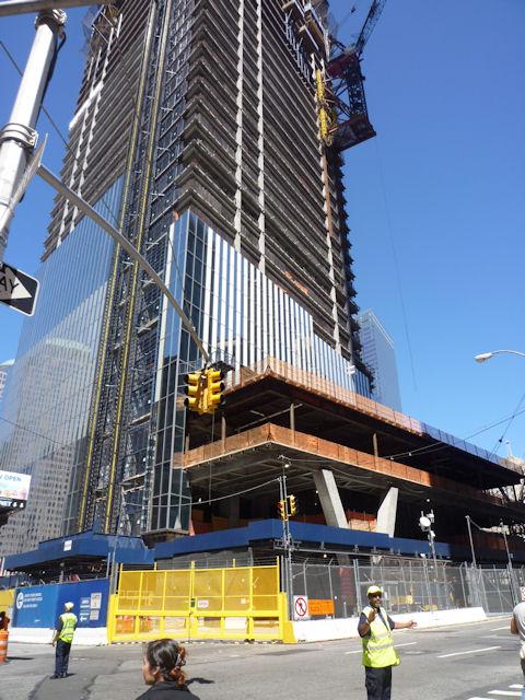 建設中のフリーダムタワー?